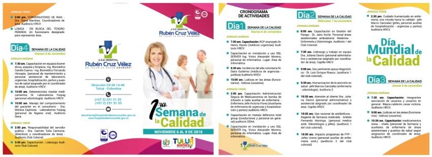1ra SEMANA DE LA CALIDAD